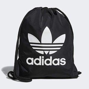 NWT Adidas Originals Trefoil Black Sack Bag